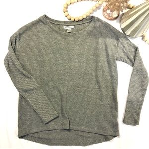 American Eagle Ribbed Jegging Sweater